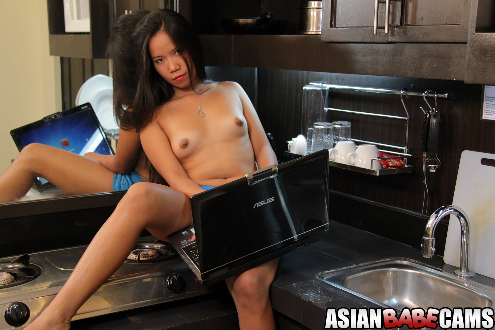 Asian babe getting that cheating bastard off with her cunt 9