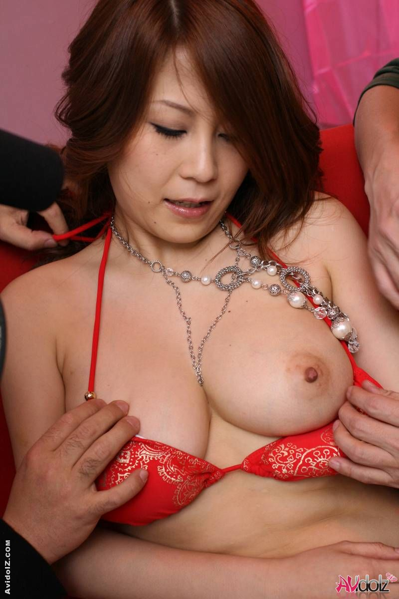 Asahi miura enjoys that toy and that cock uncensored 5