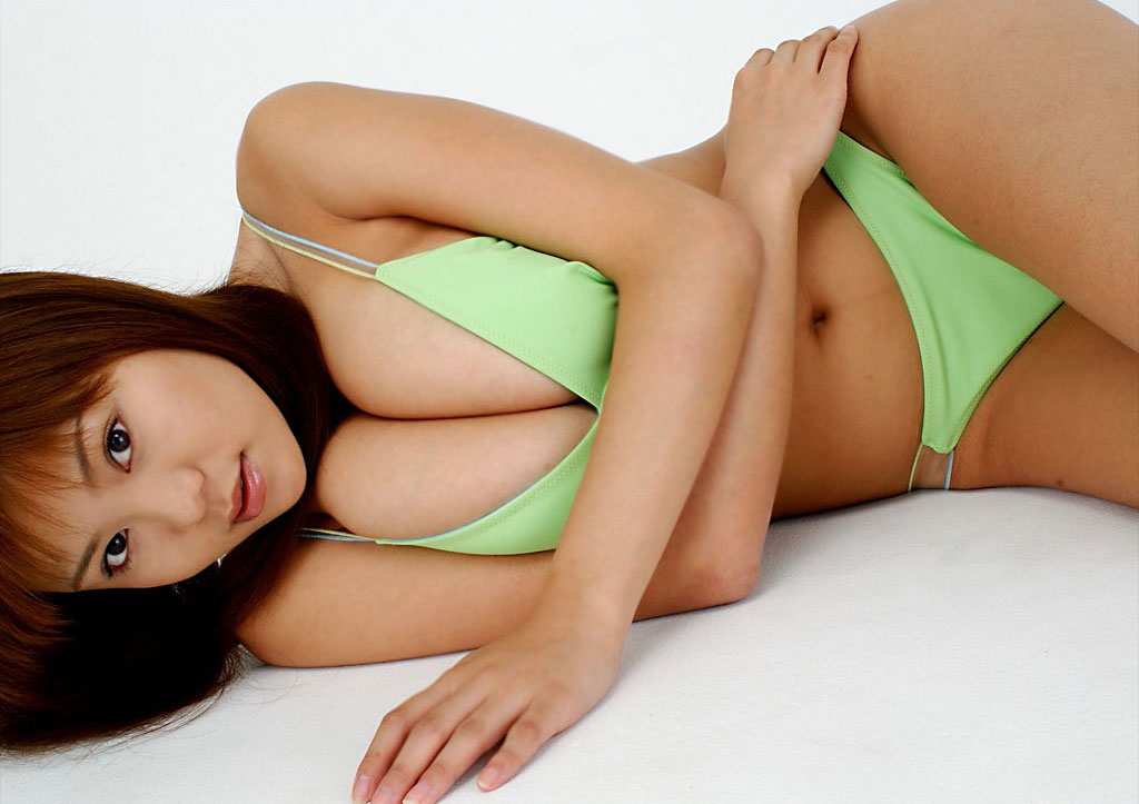 BustyAsians Yoko Matsugane 松金洋子 Yoko Matsugane Japanese Natural Big Tits in Bikini