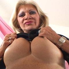 Busty granny creampie