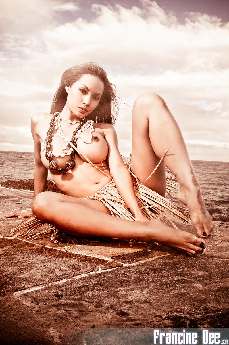 Francine dee hawaii nude beach
