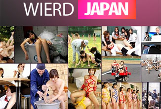 Wierdjapan is a mix of the sexy and odd activities