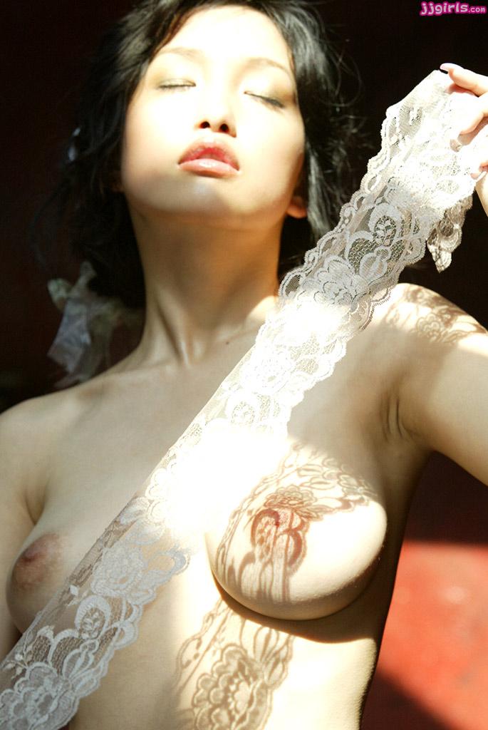 Naked skinny blonde girl