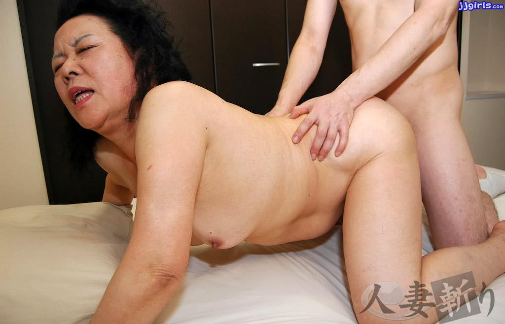 Японской старухи секс
