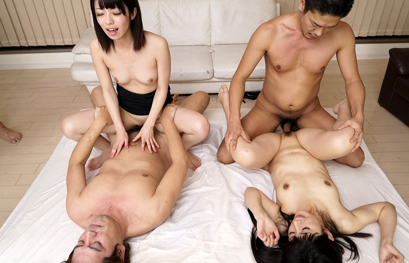 Korean group sex milf