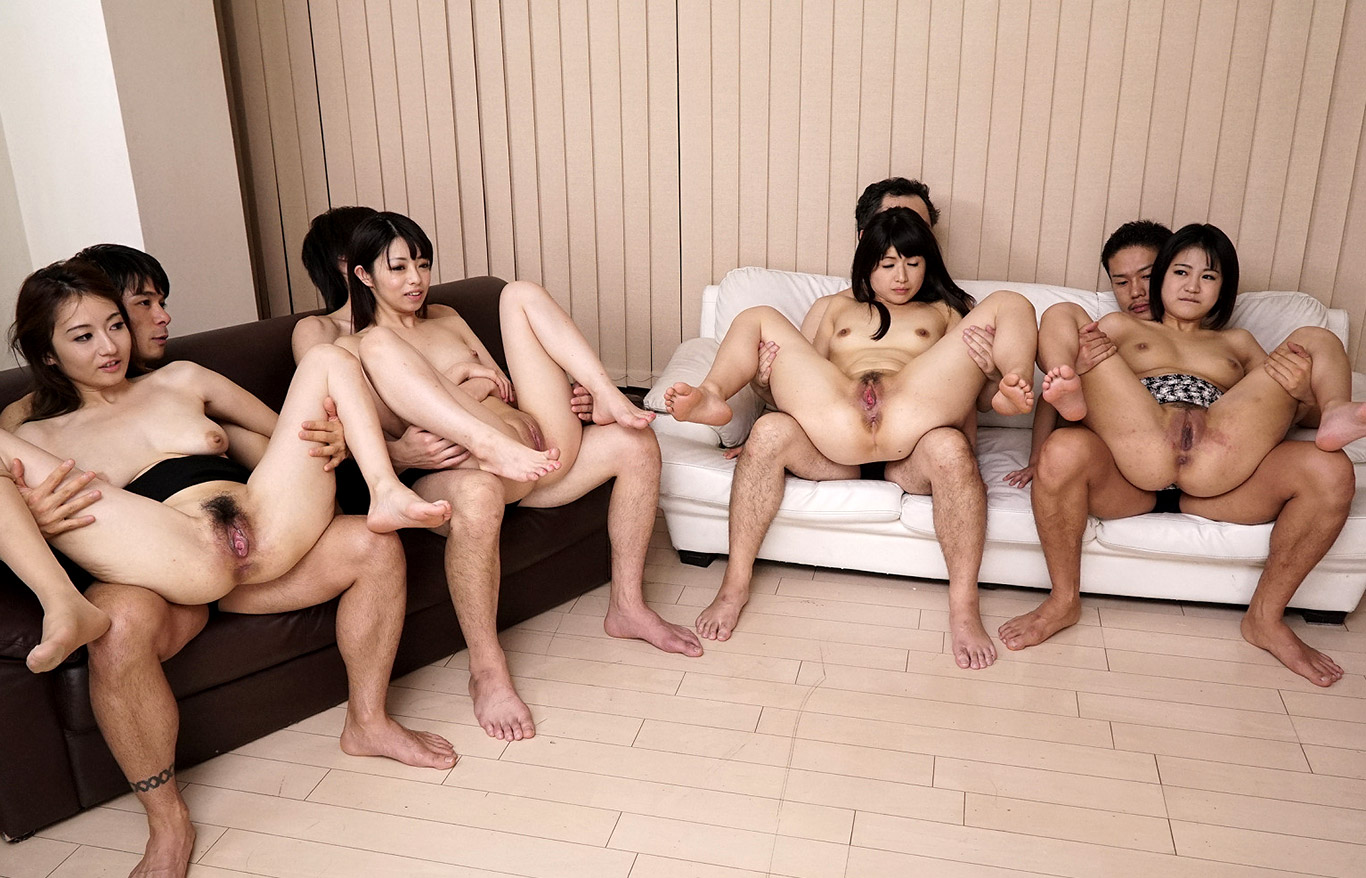 asian group hot