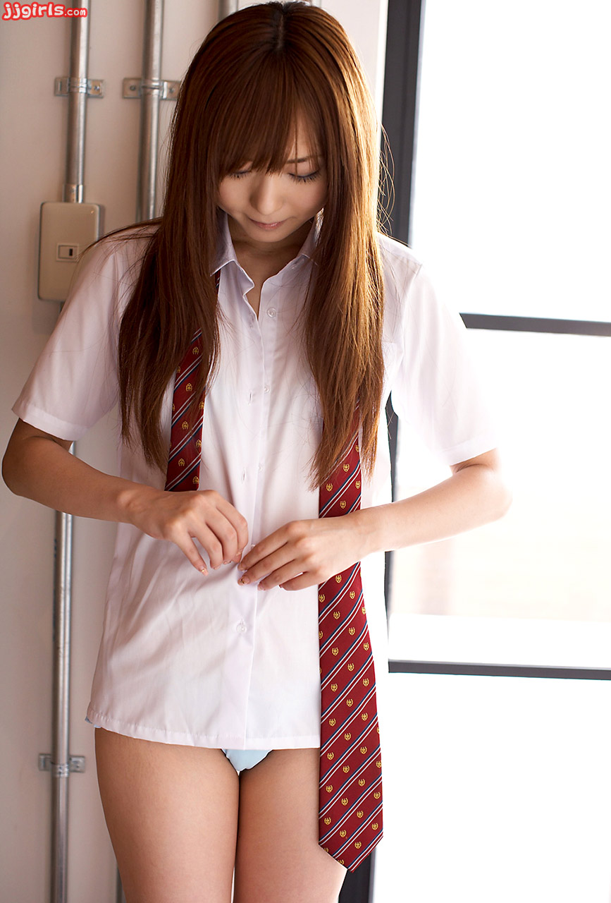 Japanese school girls without skirts.