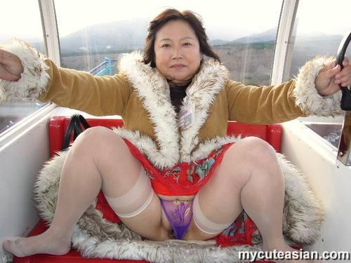 mature amateur asian tits