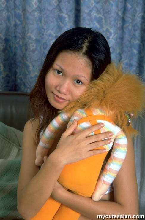 image Amateur petite asian babe lap dance