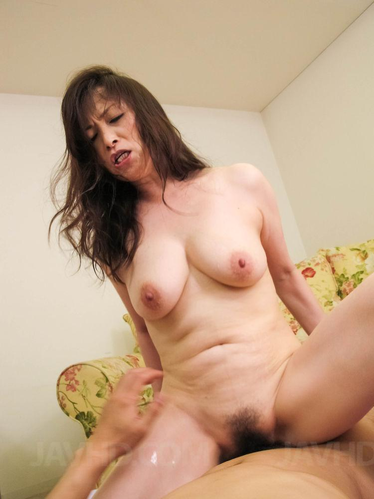 image Gorgeous milf fucked by young stud