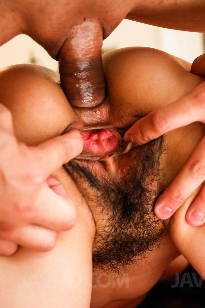 Newhalf anal creampie