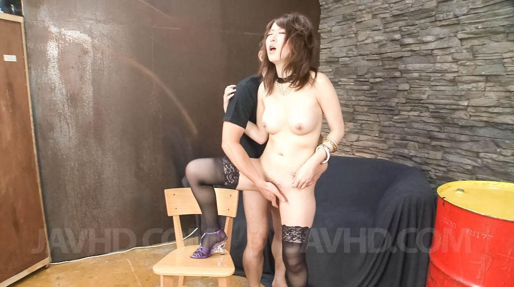 Asian cuttie pie has a fat dick to suck on well 5