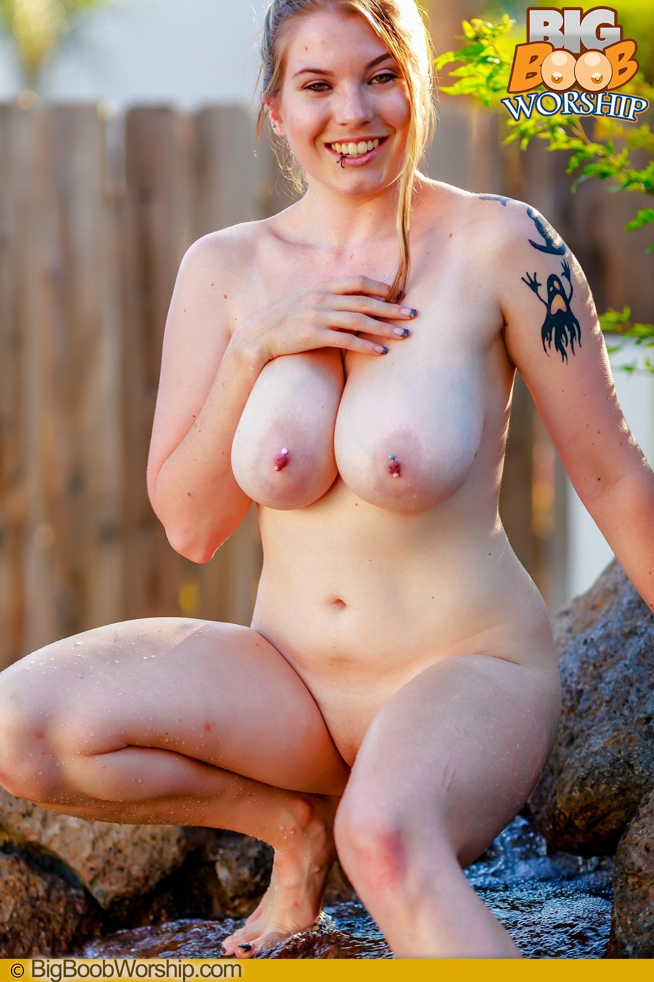 big boob worship