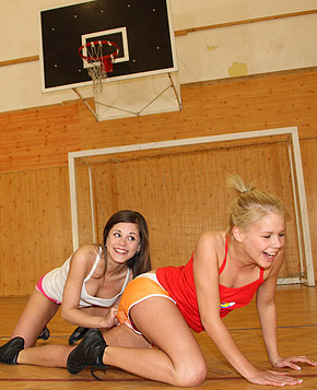 sporty lesbian porn Sport babe Maria is horny but alone in  the dancing studio  Tags: big tits, face sitting, lesbian, sport, wet, wrestling.