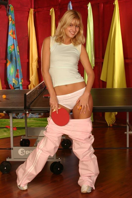 Teen girl pulling down pants remarkable