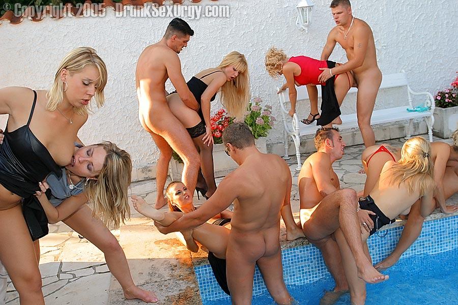 Drunken orgy by john
