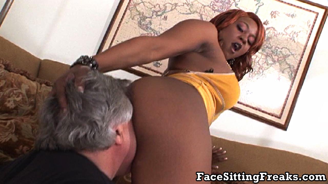 hairy black women face sitting