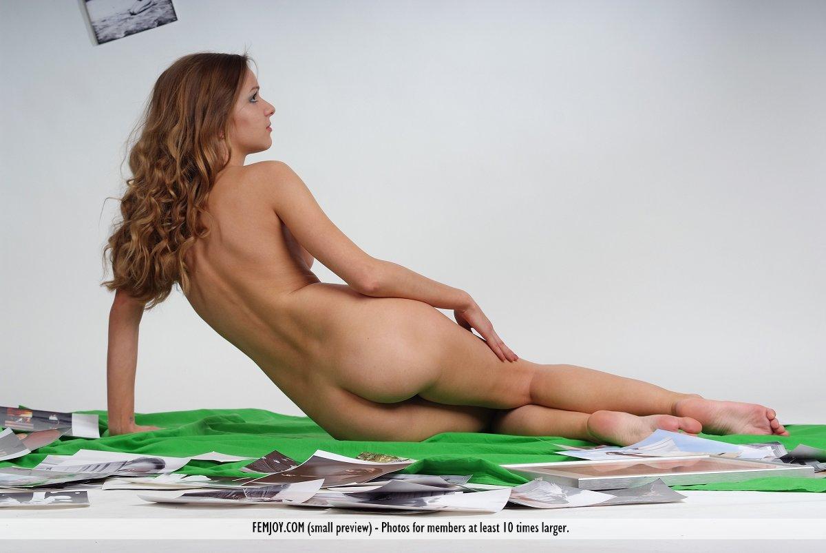 Portfolios of female nude models