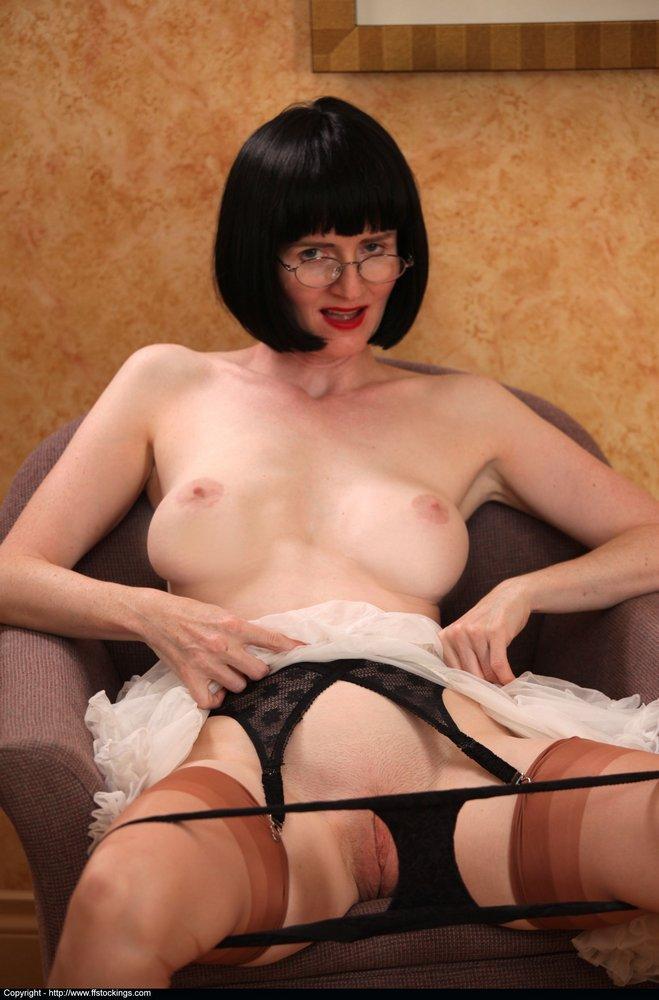 Teacher striptease mature