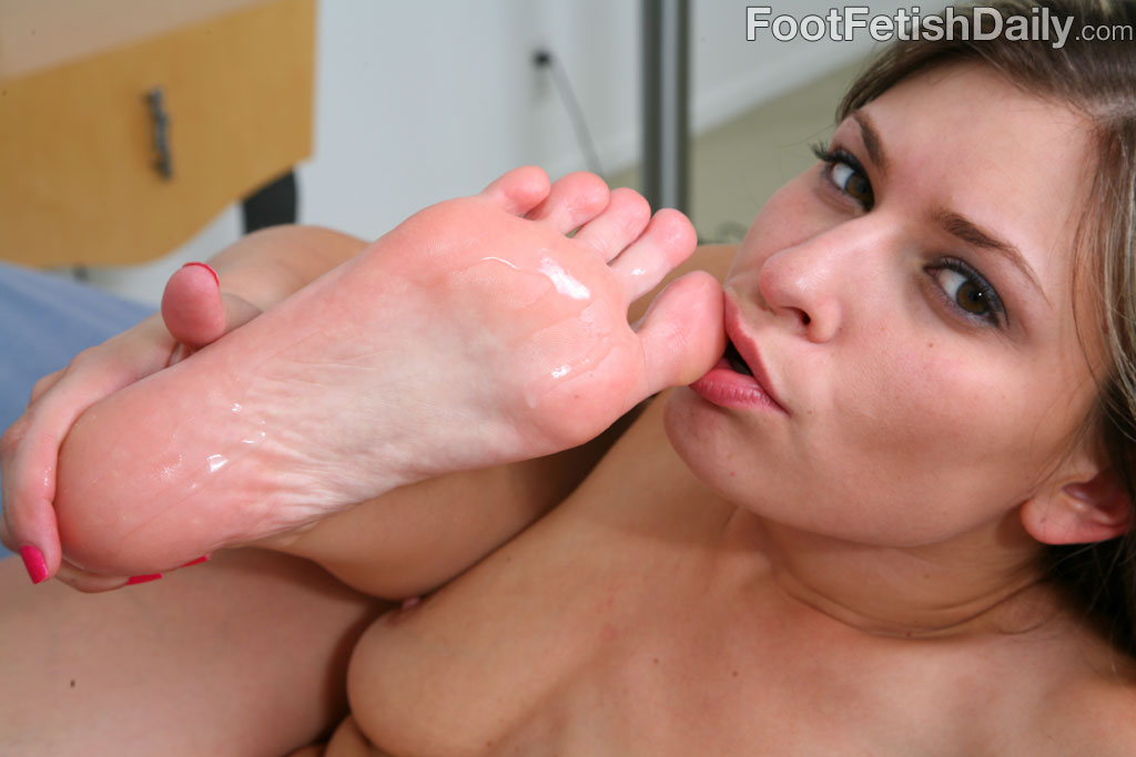 Two girls bare feet to the motor show - 3 part 3
