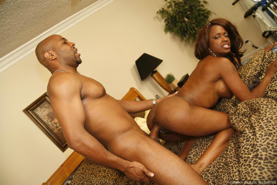 Horny black Black hot mother