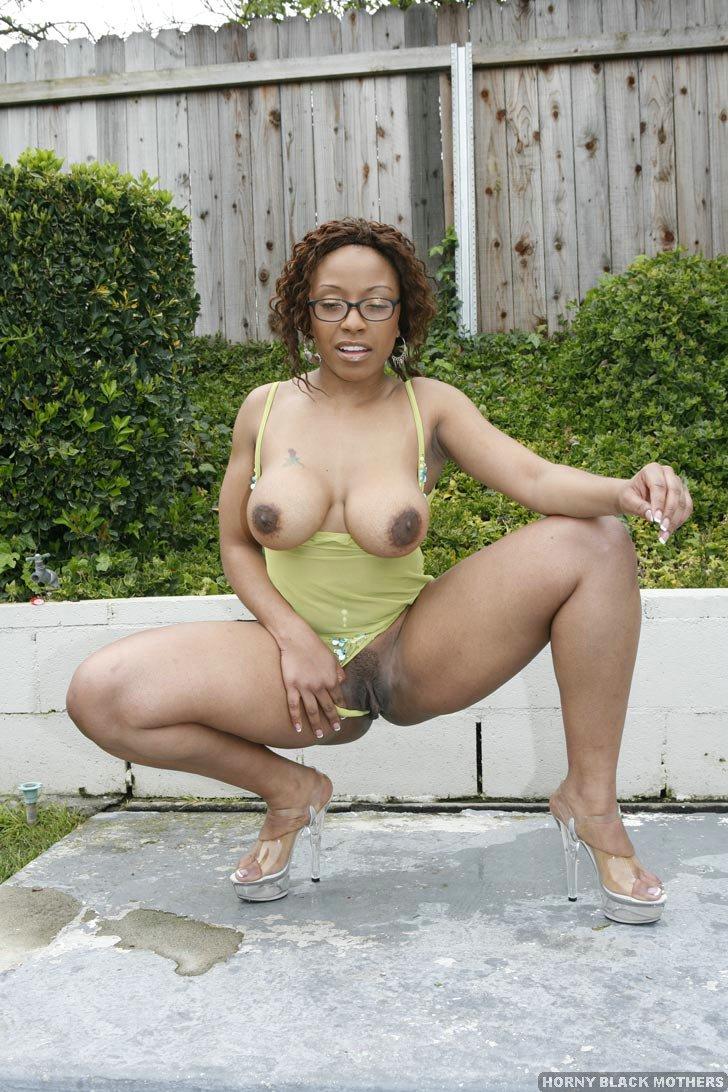 Hot black mom fuck