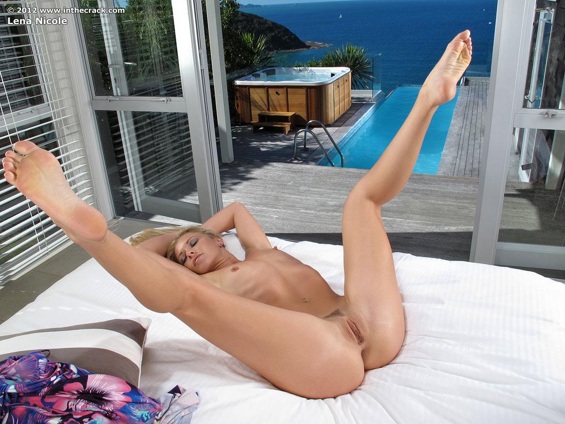 In the crack lena nicole nude