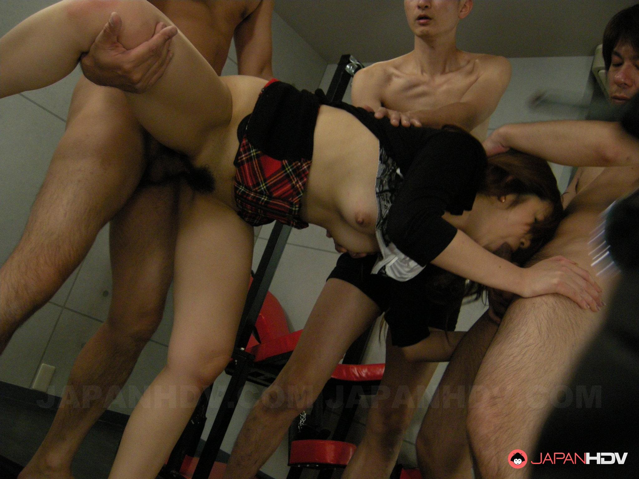 Японки принуждение секс