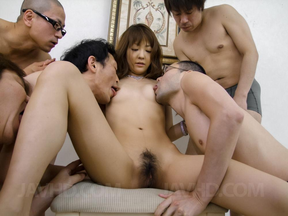 Time nude woman getting group fucked have