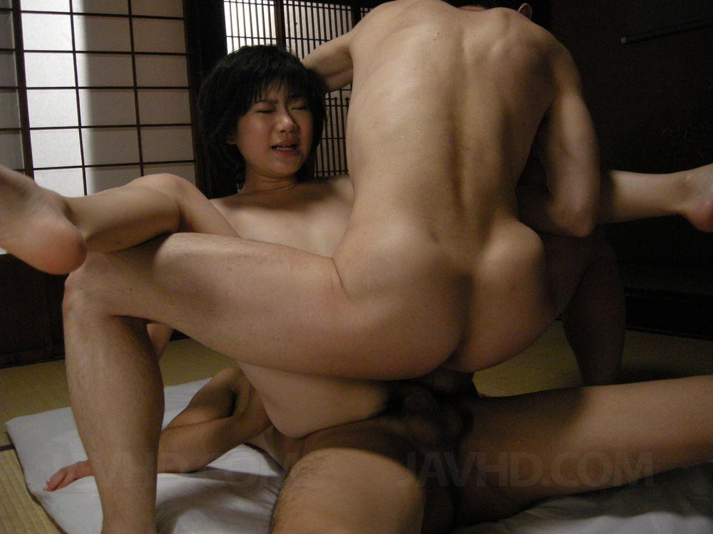 Aoba itou horny milf enjoys strong cock pound 8