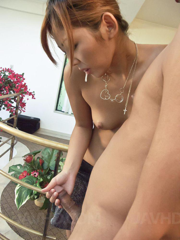Erena kurosawa has her furry muff toyed with by a horny guy - 2 part 3