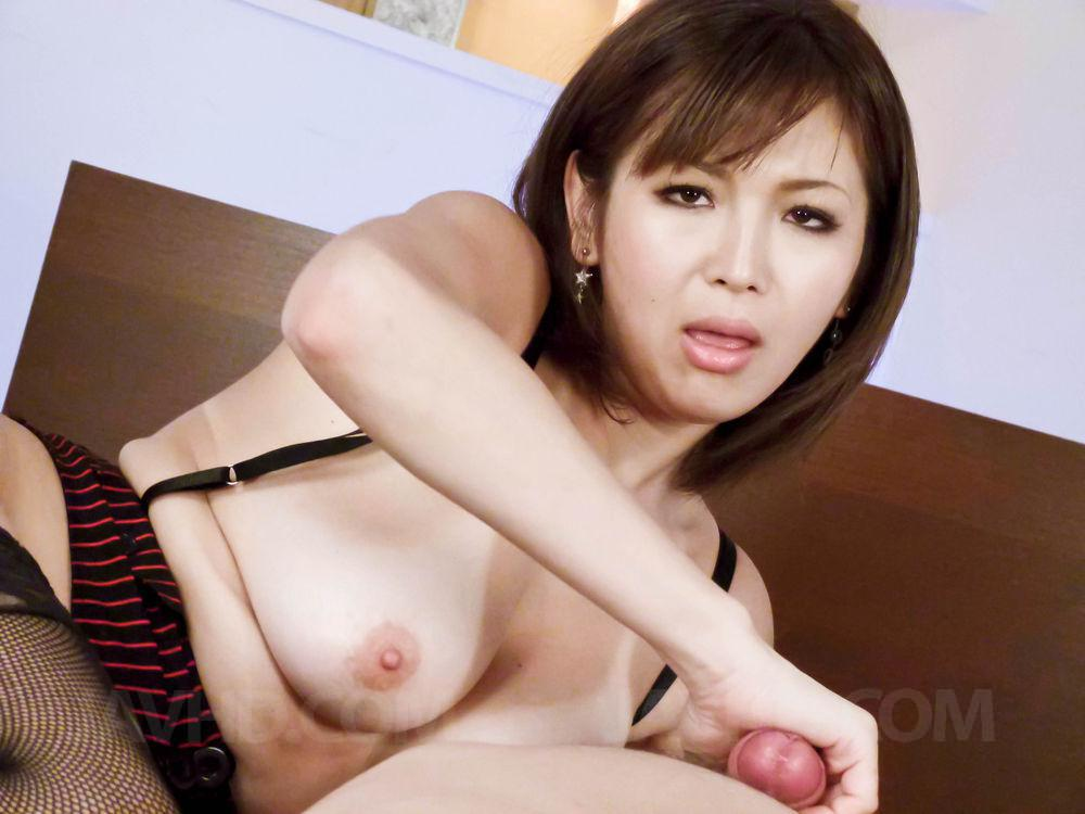 Mai kuroki horny mom deals young dick in her pussy 2