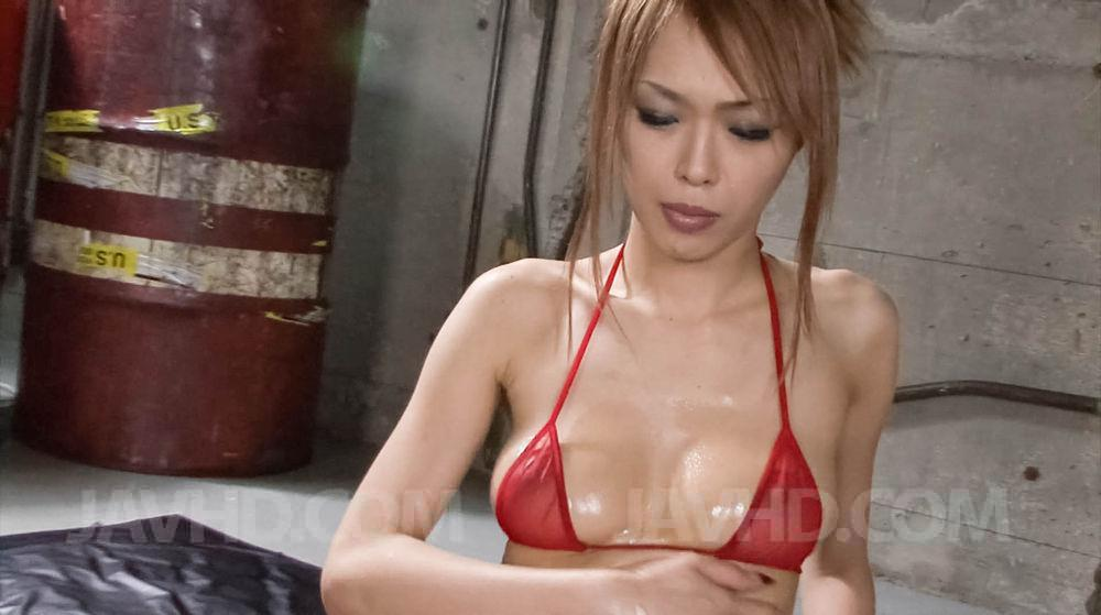 Sumire matsu makes herself squirt from her vibrator 3