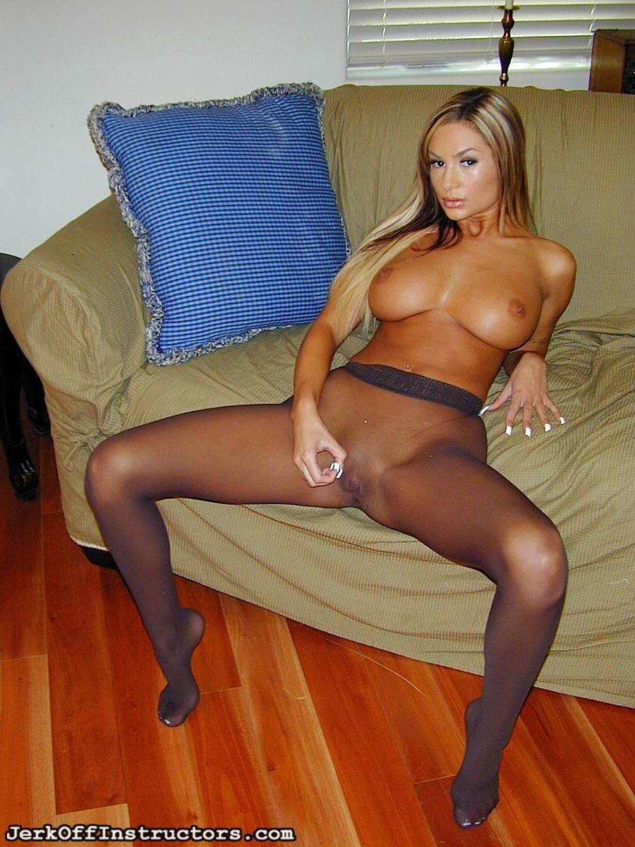 pantyhose Amy jerkoff reid