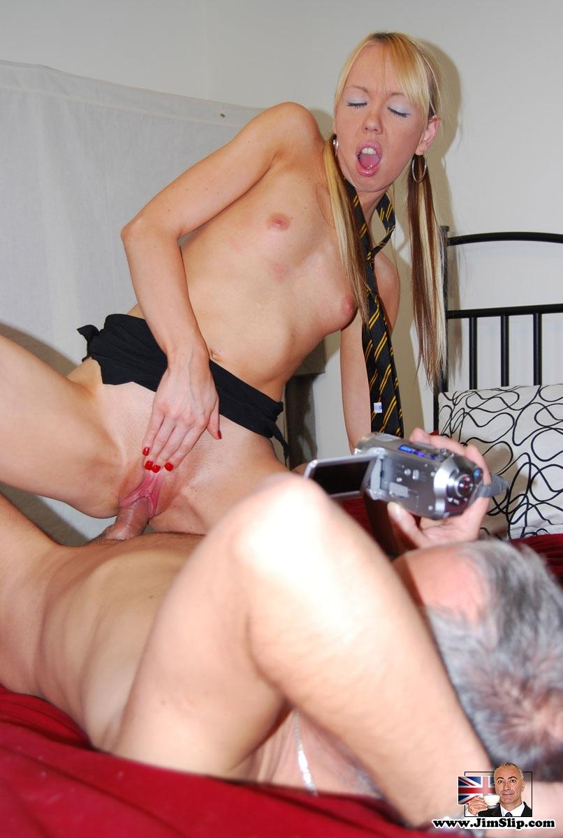 Amazing Naomie Sucks A Huge Cock On Her Knees