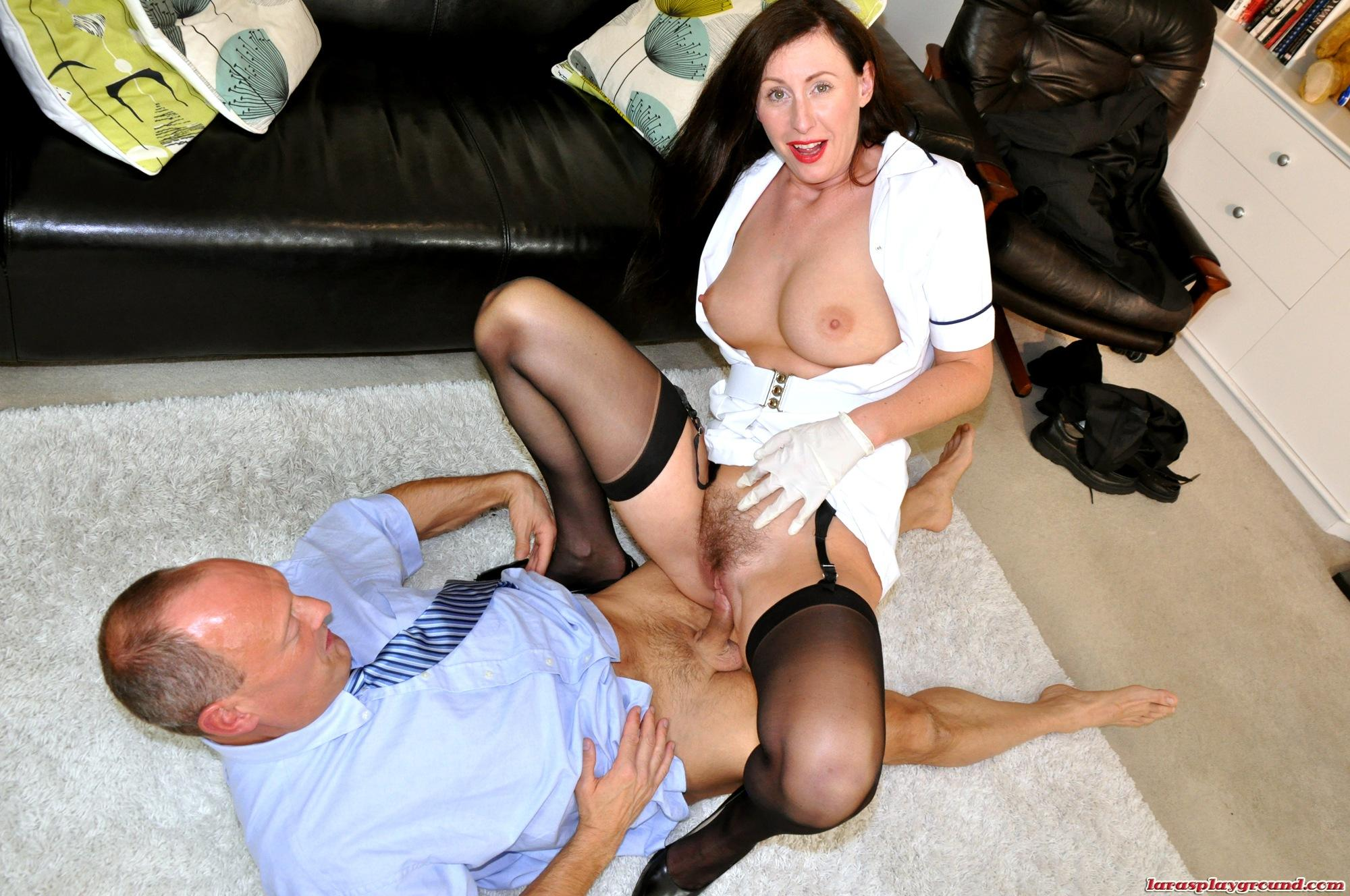 Lara west seduces old doctor philippe soine into fucking her - 3 part 8