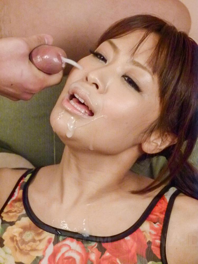 Slutload japanese cumshot