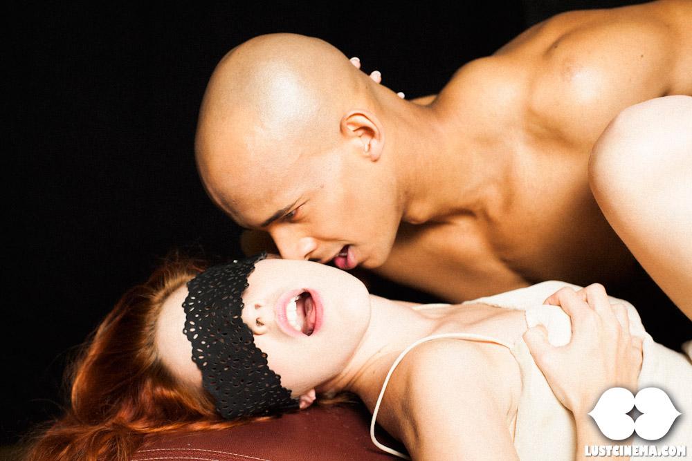 Lustful Interracial Couple Banging