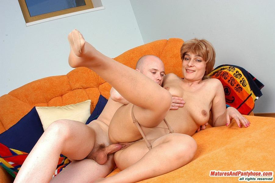 Секс с пожилой женой фото