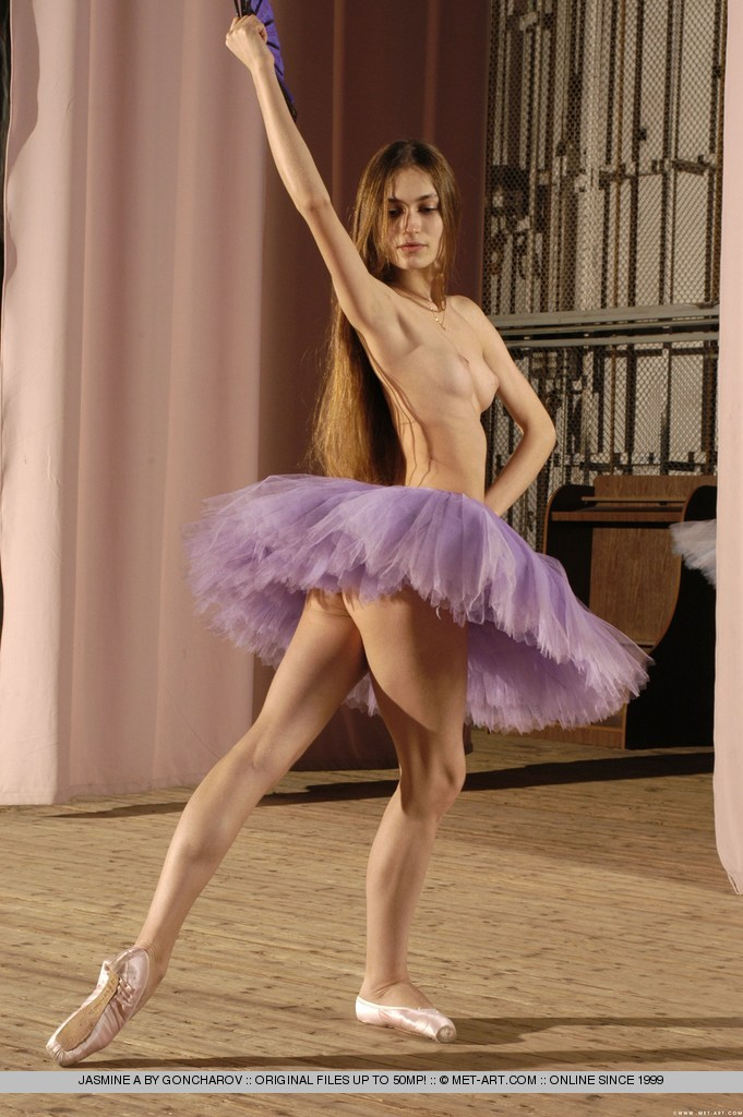 met art jasmine a exciting ballet rehearsal complete by goncharov nude