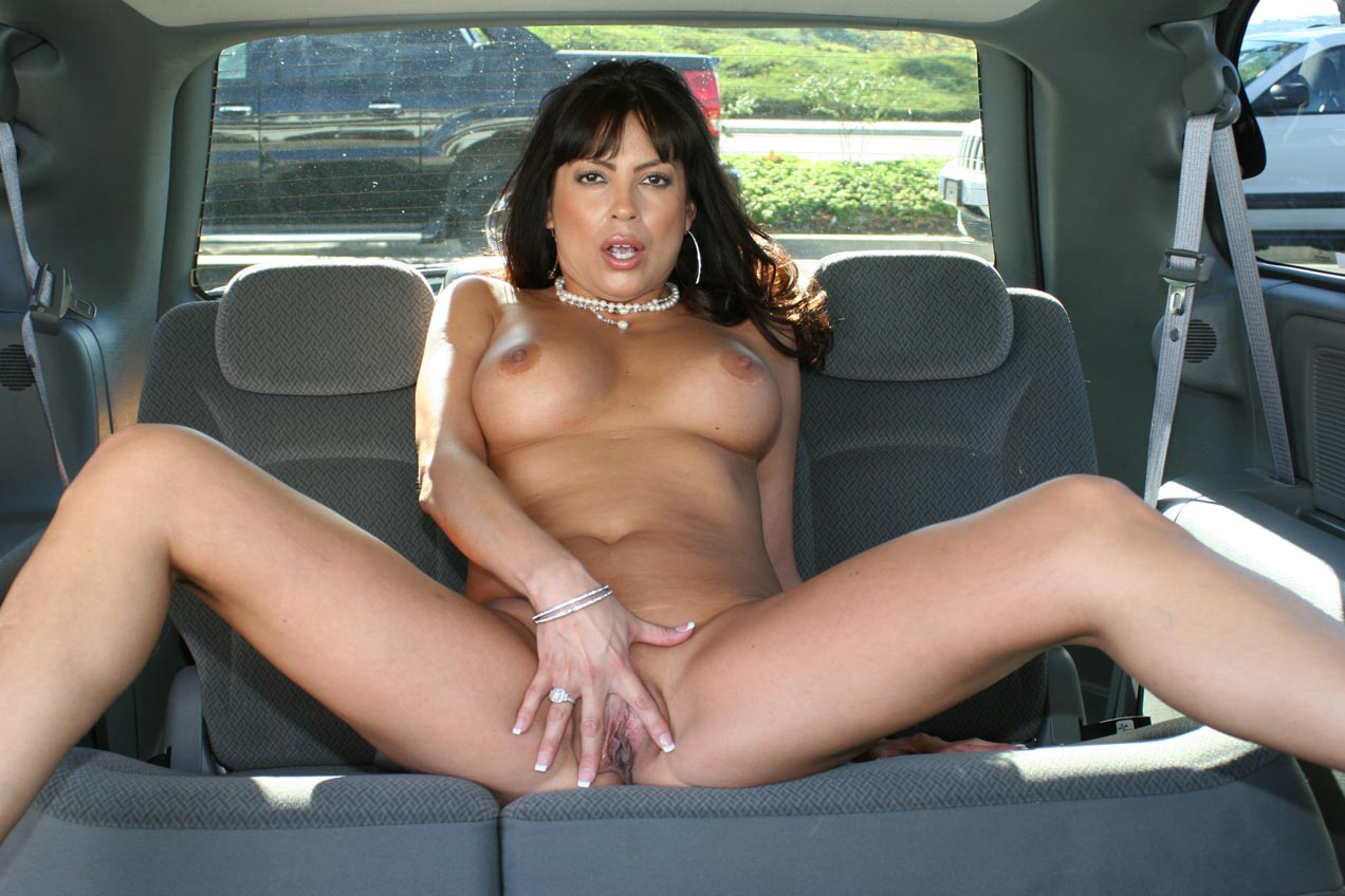 Properties Nude girl in backseat of car very pity