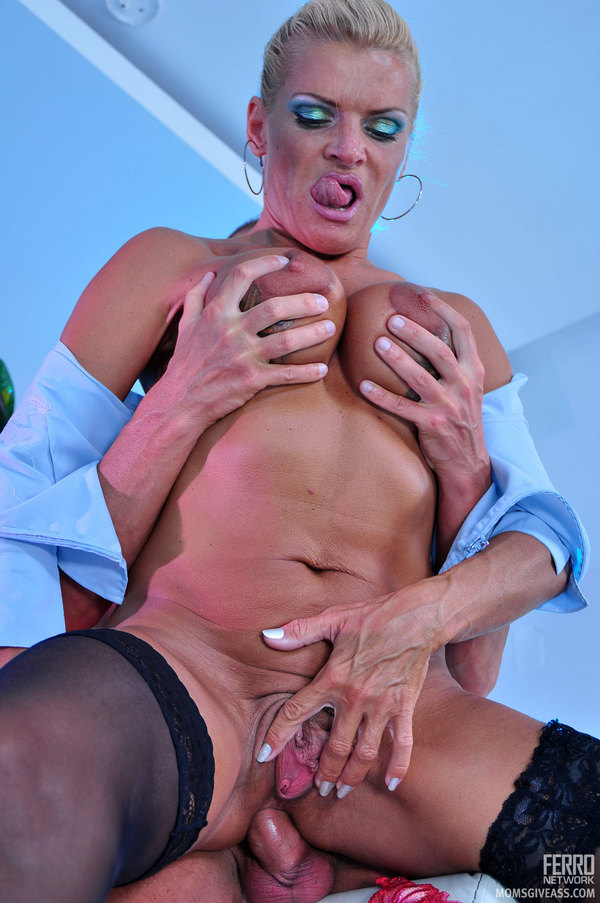 Puffy pussy being fucked