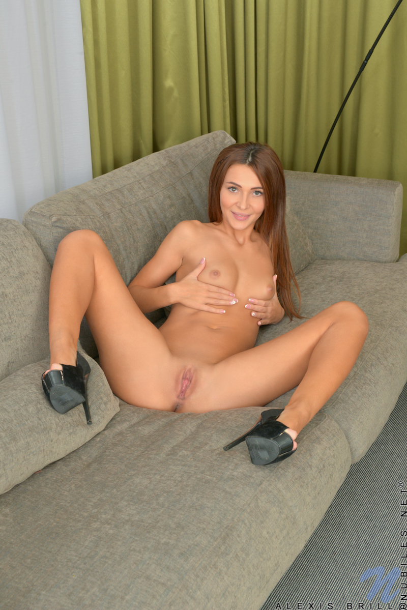 Horny european chick with big tits 7