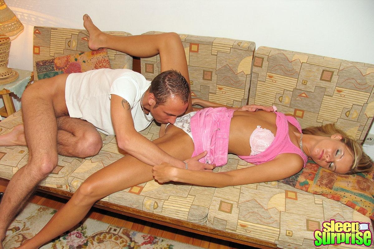 Fucked While Sleeping