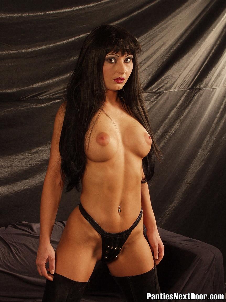 Lady next door nude