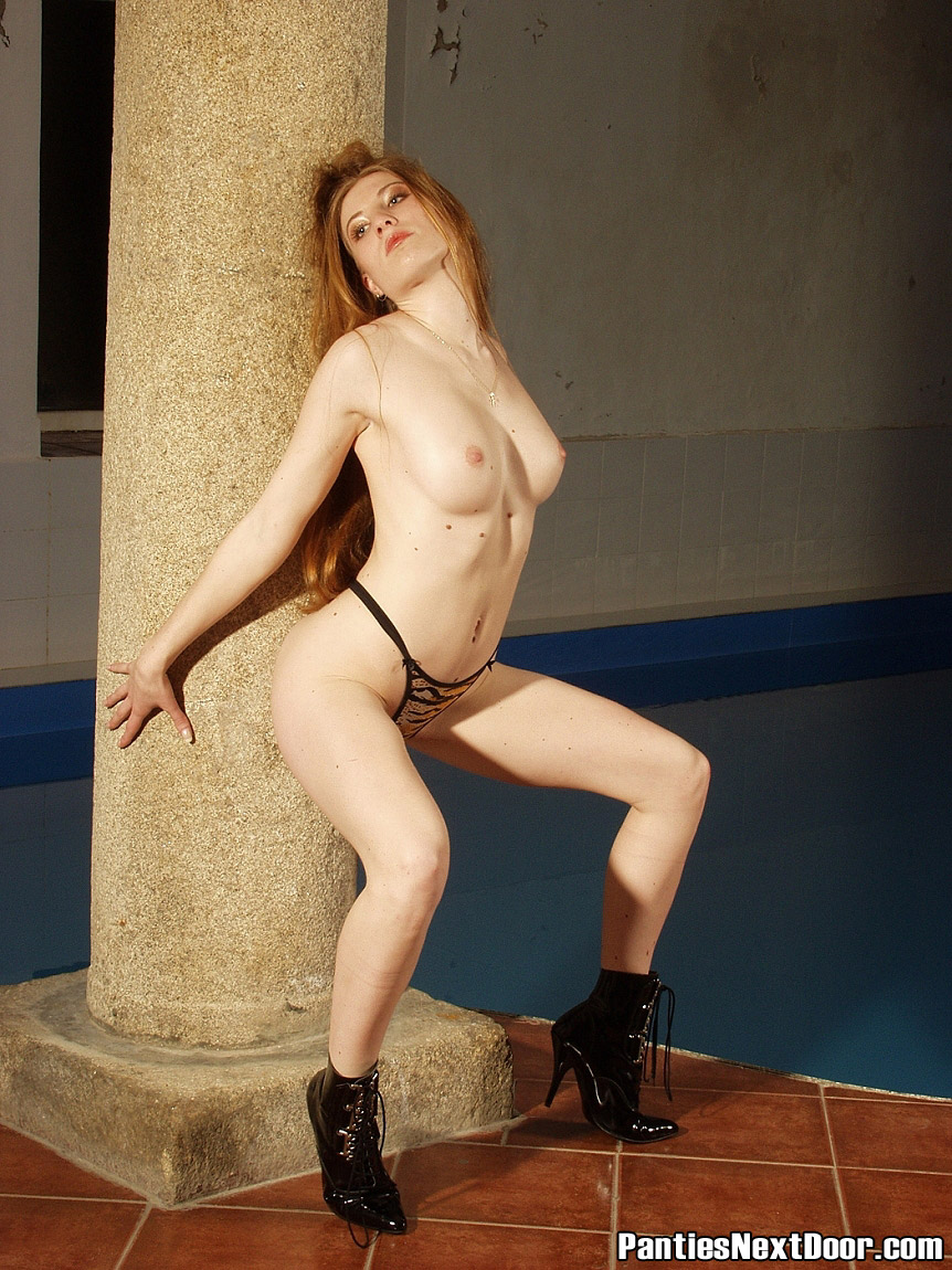 Something Lady next door nude think, that