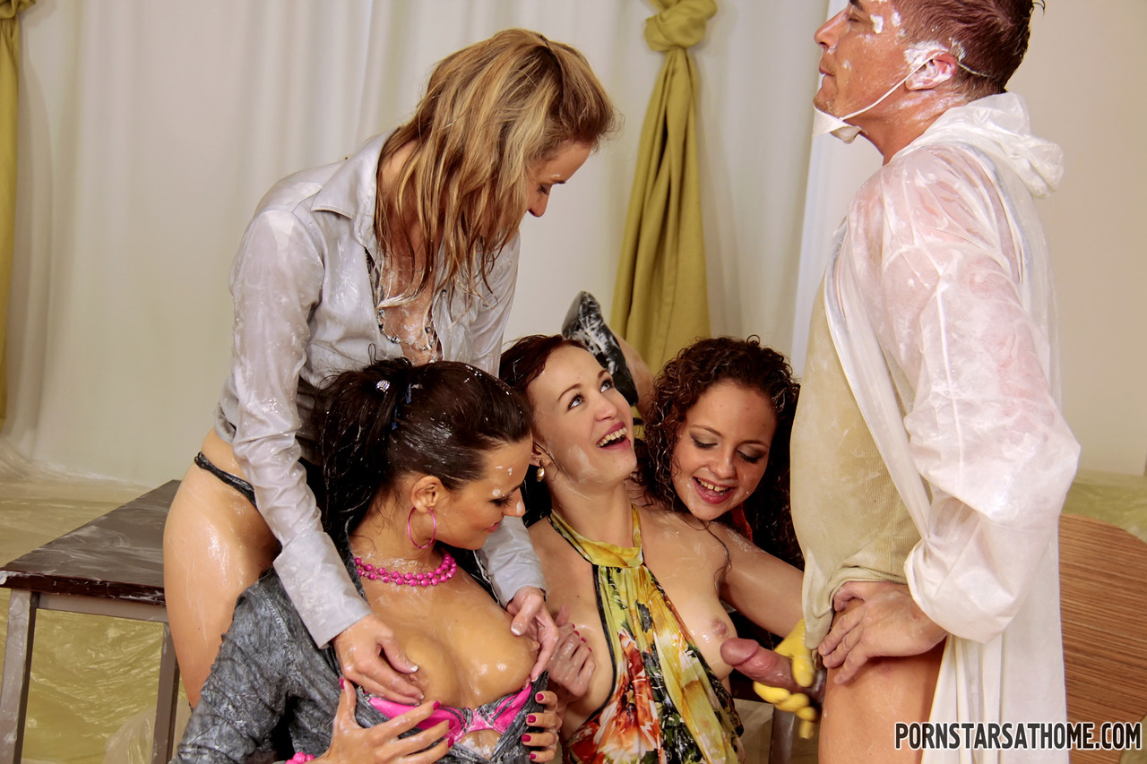 porn stars drilling themselves
