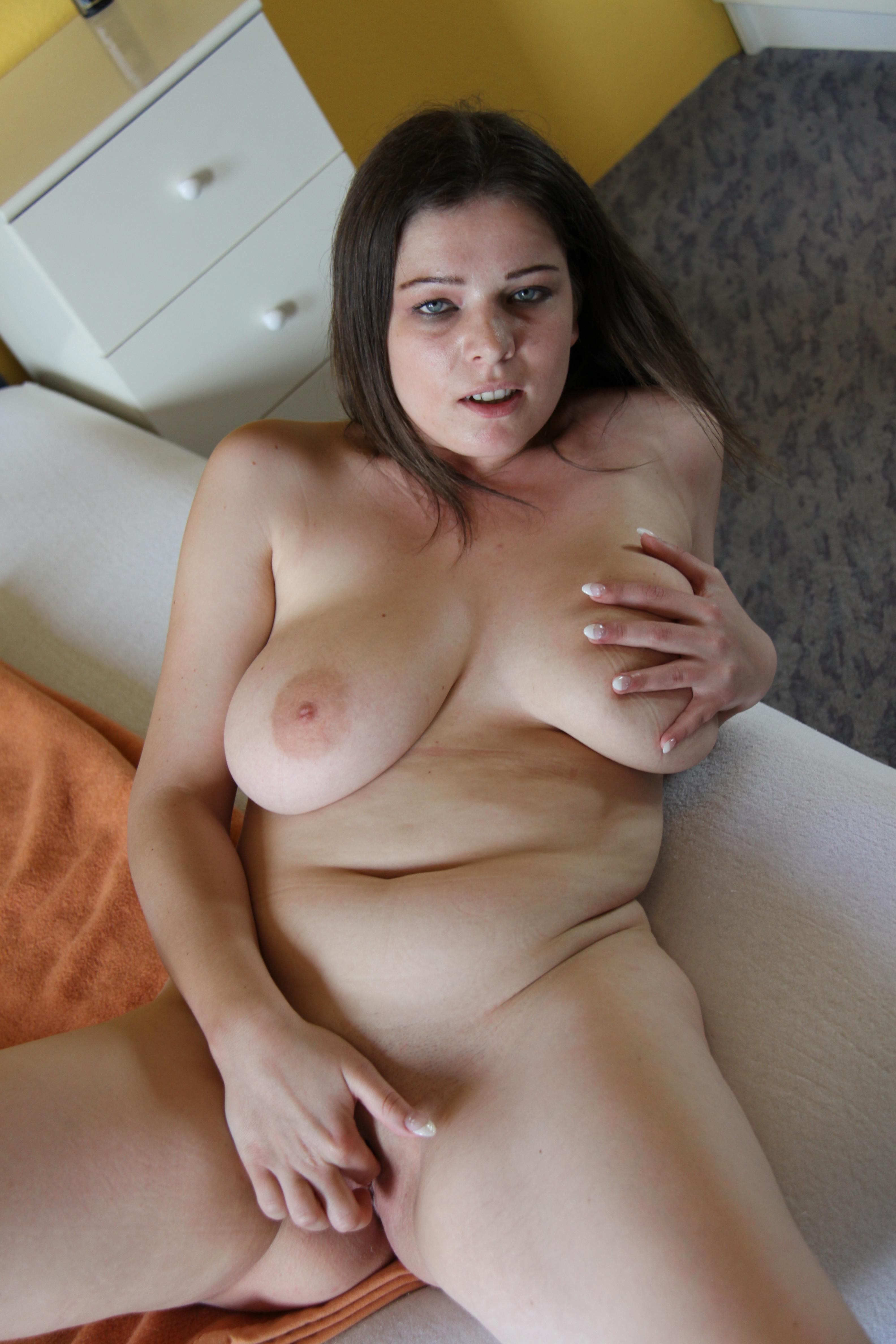 Teen big boob cumshot lesbian