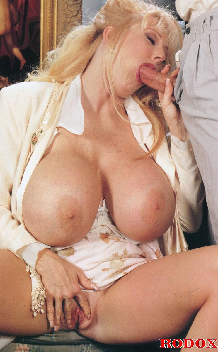 Big boob retro handjob picture