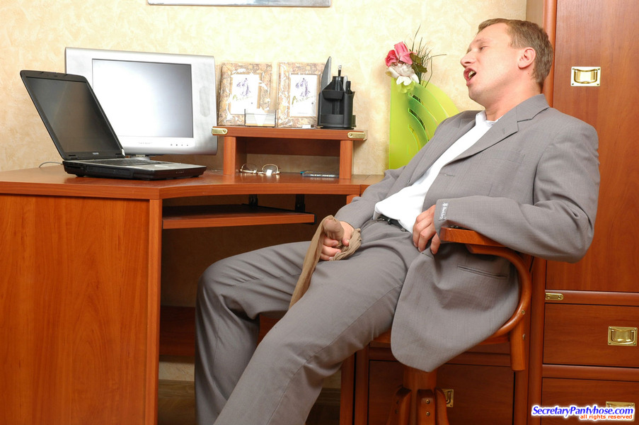 Office secretaries pantyhose naked photo